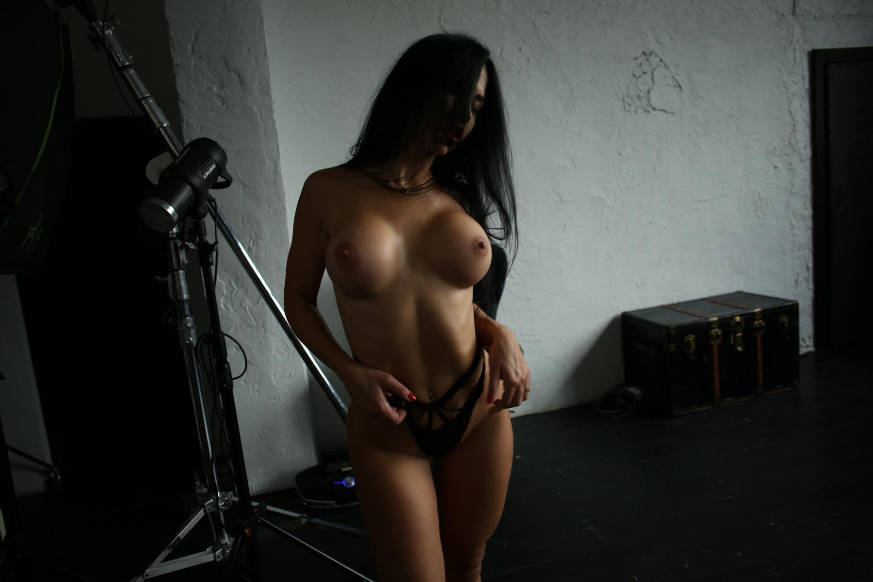 Yana Sexy Brunette's Tits Porn OnlyFans Leaked Nudes 45